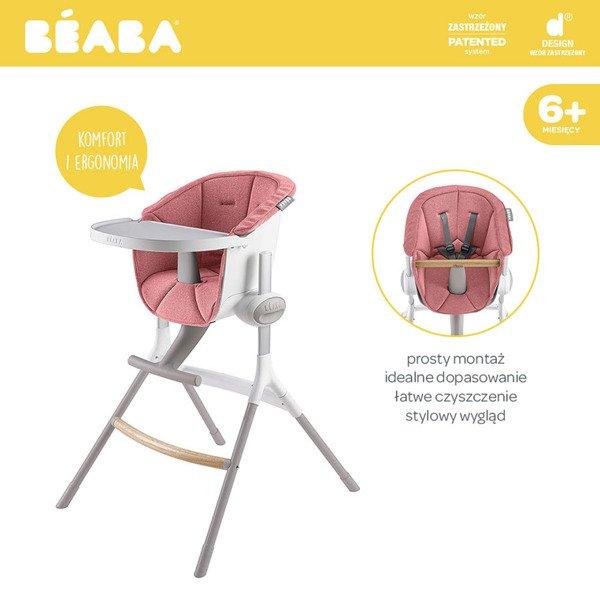 Wspaniały Beaba Miękki wkład do Krzesełka do karmienia niemowląt i małych NY19